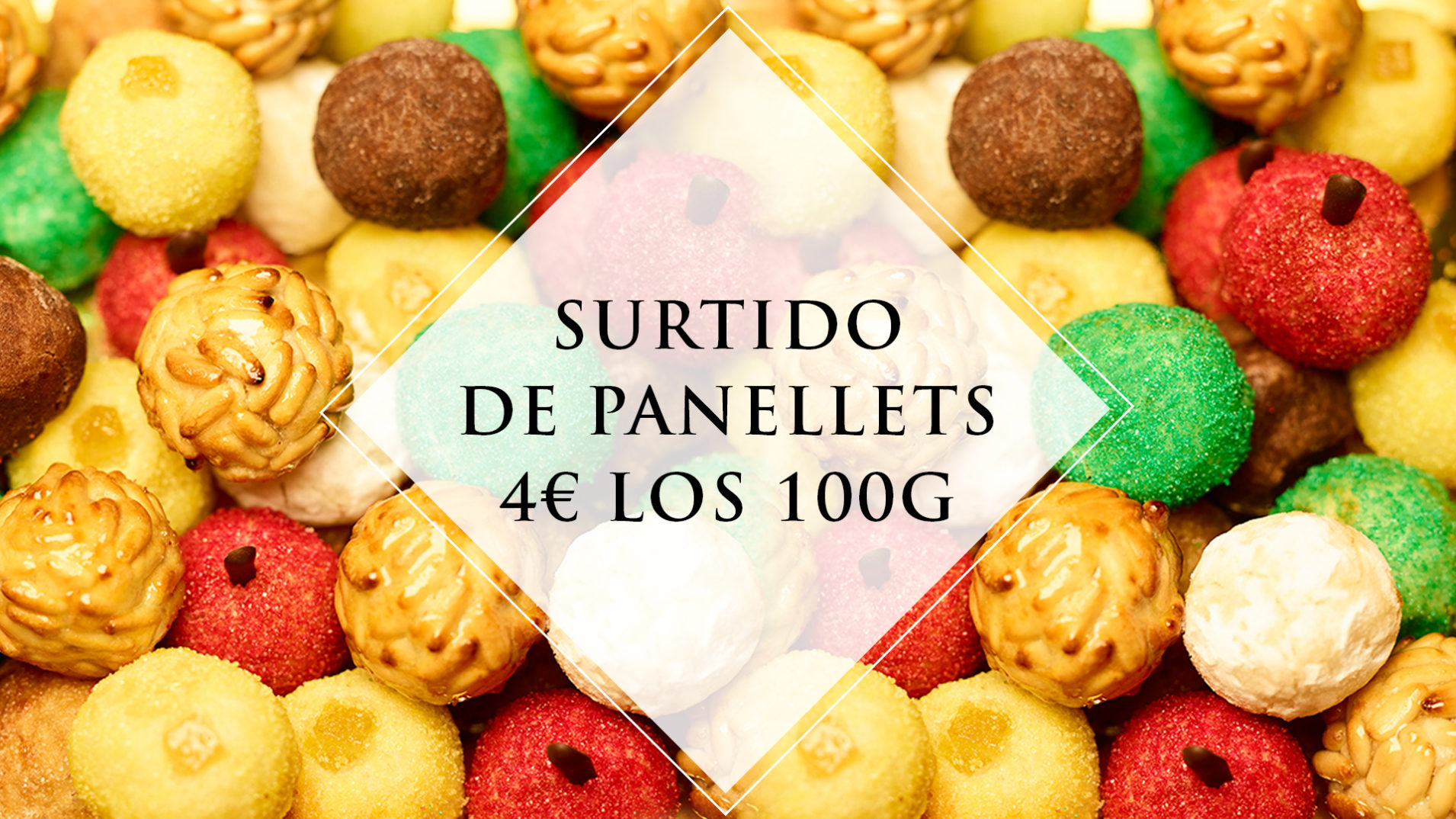 Los Panellets de La Pastisseria Barcelona 2018