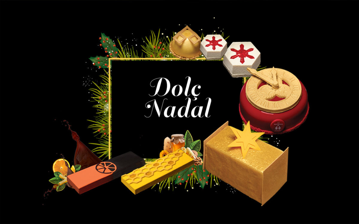 Dolç Nadal a La Pastisseria Barcelona