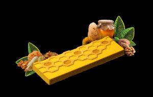 Turrón de nueces y miel