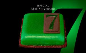 Pastís Especial Setè Aniversari