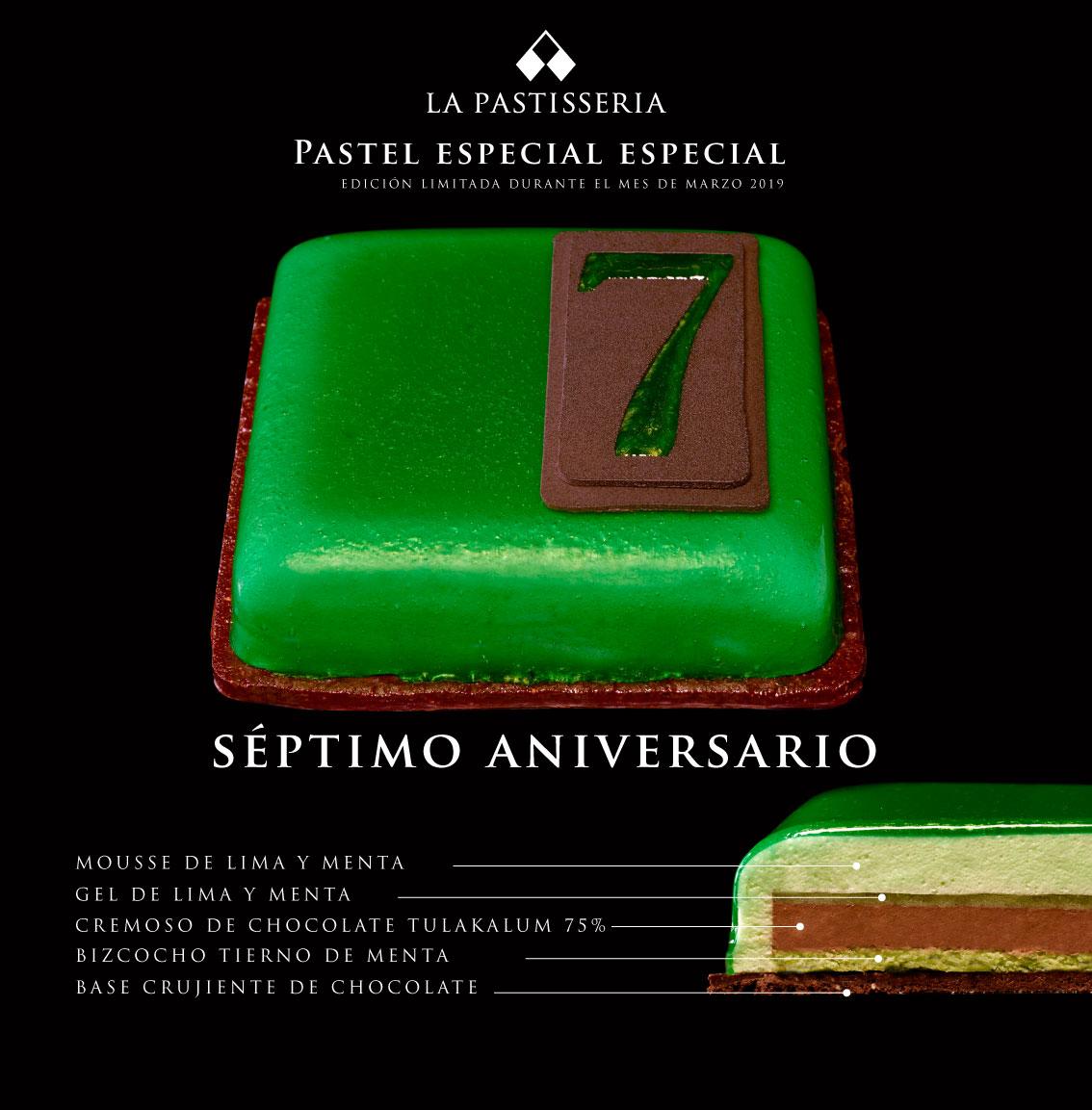 Pastel Especial Séptimo Aniversario